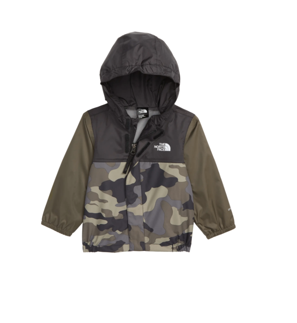 """<p><strong>THE NORTH FACE</strong></p><p>nordstrom.com</p><p><strong>$35.00</strong></p><p><a href=""""https://go.redirectingat.com?id=74968X1596630&url=https%3A%2F%2Fshop.nordstrom.com%2Fs%2Fthe-north-face-tailout-hooded-rain-jacket-baby-boys%2F4892646&sref=https%3A%2F%2Fwww.goodhousekeeping.com%2Flife%2Fmoney%2Fg33419415%2Fbest-nordstrom-anniversary-sales-2020%2F"""" rel=""""nofollow noopener"""" target=""""_blank"""" data-ylk=""""slk:Shop Now"""" class=""""link rapid-noclick-resp"""">Shop Now</a></p><p><em>originally $50</em></p><p>Your kid will stand up to the rain in style with this weatherproof jacket. <br></p>"""