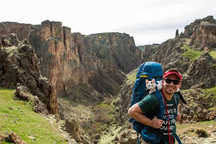 <p>One of Vladimirs favorite canyons in Idaho – Jump Creek Canyon. (Photo: Our Vie / Caters News) </p>