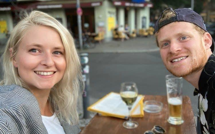 Hayley Irwin and Matt Boyd moved to Berlin in late June