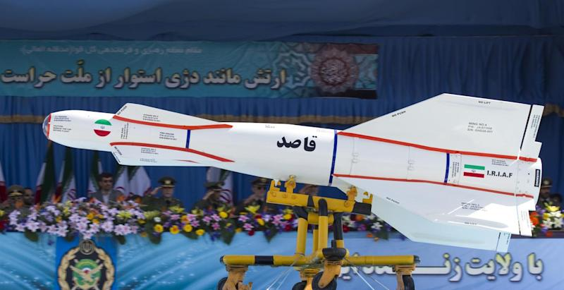 REP https://nationalinterest.org/blog/buzz/watch-iran%E2%80%99s-simulated-missile-attack-israel-55752 5/24/2019 WKD-BUZZ-JDG done Terrifying: Watch Iran Practice a Missile Attack on Israel https://pictures.reuters.com/archive/IRAN-GM1E74I1BXR01.html Cou