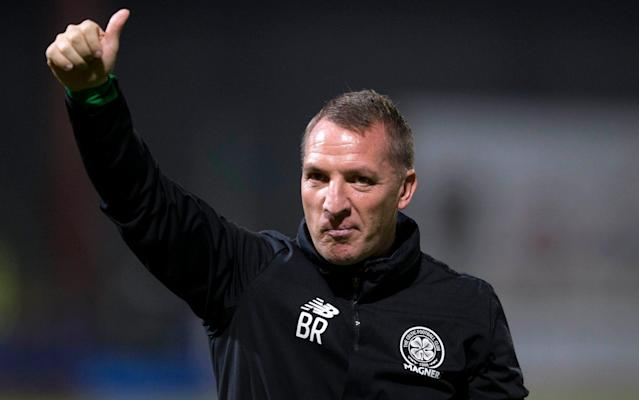 "Were the rate of managerial attrition in Celtic's Champions League group to continue, Brendan Rodgers would soon be out of a job. Happily for Celtic fans, the Northern Irishman is under no threat, by contrast to Rene Weiler and Carlo Ancelotti, who began the season in charge of Anderlecht and Bayern Munich respectively but who have been numbered amongst the early casualties of disappointing form. In Weiler's case, a poor start to the Belgian league season saw him gone before Anderlecht lost to Celtic in their Champions League group encounter on Wednesday while Bayern parted company with Ancelotti on Thursday after the Bundesliga club lost by the same score to Paris Saint-Germain in the other game in the section. ""Carlo will probably go to Barcelona or somewhere, but my feelings this week were for Jim McIntyre and Peter Houston,"" said Rodgers, of the men sacked by Ross County and Falkirk. ""I didn't really see or understand the role Jim played at Ross County until I came to Celtic. ""I then analysed what he'd done - winning the League Cup and keeping them up. Roy MacGregor [the Staggies' chairman] is a lovely guy and has done brilliant work for Ross County and the area, but I have real empathy for Jim losing his job. ""Look at the work he's done and the fixtures he's had. They've played ourselves, Aberdeen, Rangers and Hibs. I watched the full game last week and it wasn't a performance where you say the players aren't really playing for him. ""I have real empathy for Jim and Peter Houston, who has been about for a long time. He's a very good coach, who did a great job for Dundee United and then Falkirk."" It has been a great honour to form part of Bayern's history. I would like to thank the Club, the Players and it's amazing fans. #MiaSanMiapic.twitter.com/oZ7mLllers— Carlo Ancelotti (@MrAncelotti) September 28, 2017 On Saturday, Rodgers comes up against one of his predecessors at Celtic, when Hibernian arrive in the east end of Glasgow, where their manager, Neil Lennon, was a favourite, both as a player and during his spell in charge between 2010 and 2014. ""If I wasn't here, if I was to say who'll be Celtic manager I would say Neil Lennon,"" said Rodgers of the man who won three titles for the Parkhead side. ""He was very good in his time here and if it ever comes to him again he would do equally as well if not better."" When Lennon left, partly because of the absence of competition following Rangers' financial meltdown and spell in the lower leagues, Rodgers imagined that he and his fellow countryman might engage in a Merseyside rivalry. ""I was at Liverpool and there was talk then of David Moyes going to Manchester United and I thought that Everton would have been a perfect job for Neil. Neil Lennon returns to Celtic Park on Saturday to play the club he graced in midfield and the dugout Credit: Andrew Milligan/PA Wire ""There is no doubt he deserved a better offer. That's no disrespect to Bolton - if they'd been in the Premier League, it would have been a great job. I felt Neil was a Premier League manager in waiting. ""Maybe that's because I know the size of Celtic and what the demands and challenges are at a club like this. I could see how he'd managed that and looked at what could be his next step. ""Part of my admiration for him comes from his openness and the courage he showed to come out and speak openly about his depression. I read his book and it was a real admission of his life and where he was at and it takes a lot of courage to do that. ""He was a real pioneer. That was nearly a decade ago. Then there was everything else that surrounded his time here too which wasn't nice and you don't want anyone to go through. This is a job that is big enough itself without any additional pressures."" Celtic are bidding for a 58th successive domestic game unbeaten but they must achieve it without Scott Brown and Stuart Armstrong, both of whom have hamstring injuries which will also keep them out of Scotland's World Cup double header against Slovakia and Slovenia. ""It's just absolutely so unlucky for us and their unavailability for tomorrow but also for Scotland, which is a huge loss,"" Rodgers said."