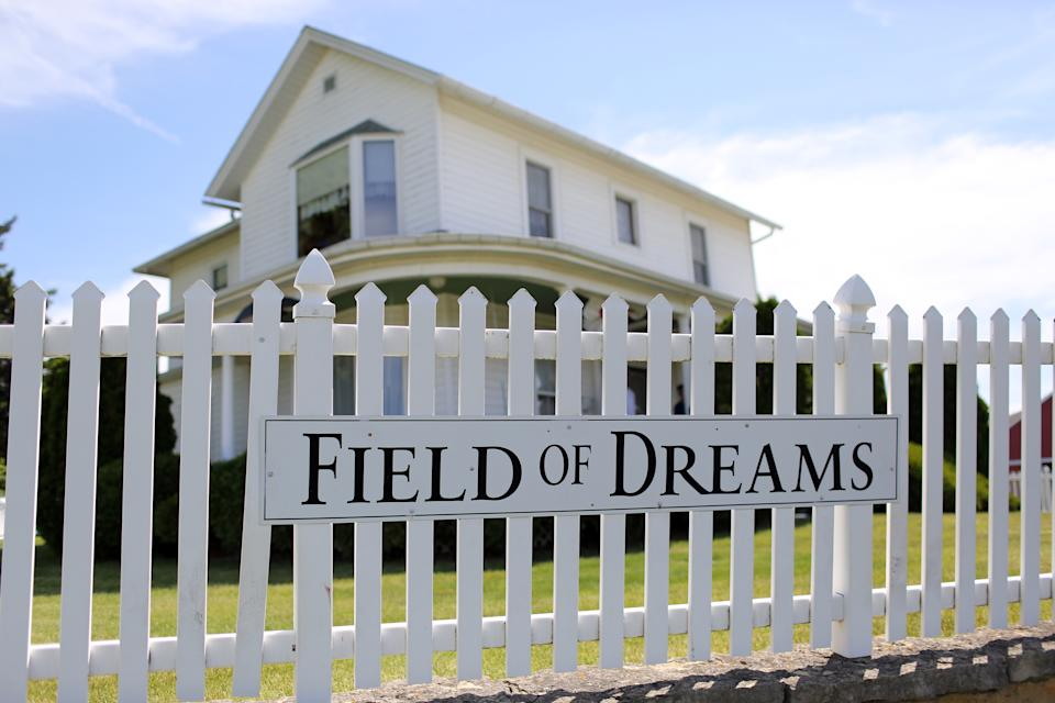 MLB will be invading the famous Field of Dreams for a game in 2020. (Photo by Alex Trautwig/MLB via Getty Images)