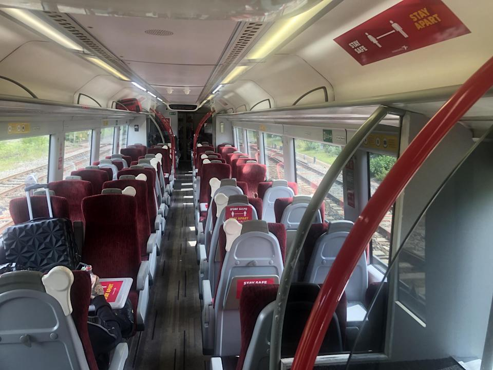 Space available: a CrossCountry train from Cardiff Central: Simon Calder