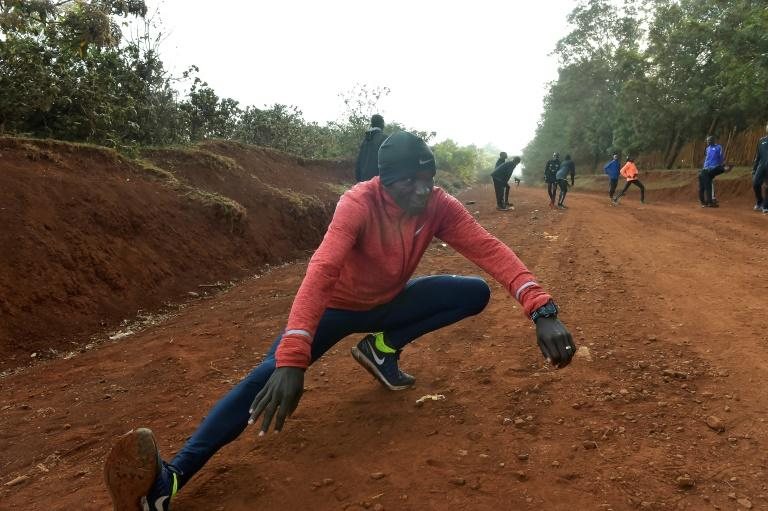 Eliud Kipchoge -- who ran the world's third fastest marathon time of 2:03.05 in 2016 -- has been based at a high-altitude training camp in western Kenya