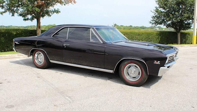 Big, Bad American Muscle: 1967 Chevrolet Chevelle SS