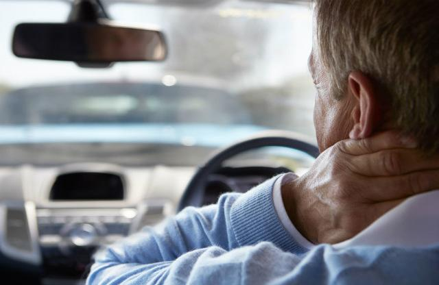 Driving with back pain
