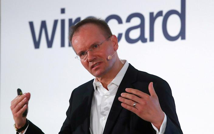 Markus Braun, former chief executive of Wirecard - Michael Daider /Reuters