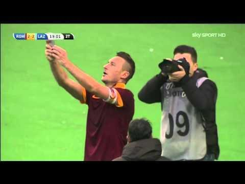 <p>Francesco Totti has played in more Derby della Capitales than any man in history, with 44 appearances, and nobody has scored more goals. Totti has 11.</p> <br><p>His last goal against local rivals Lazio came in January 2015 - a goal which levelled the match at 2-2 - and Totti famously celebrated by grabbing his smartphone and taking a selfie with the home fans in the background.</p> <br><p>Totti's name will forever be synonymous with AS Roma, and he's now all set to move behind the scenes to continue his affiliation with the club. He is truly one of the greatest ever.</p>