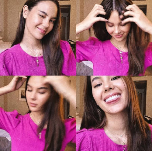 Catriona Gray shares photo of her during her quarantine