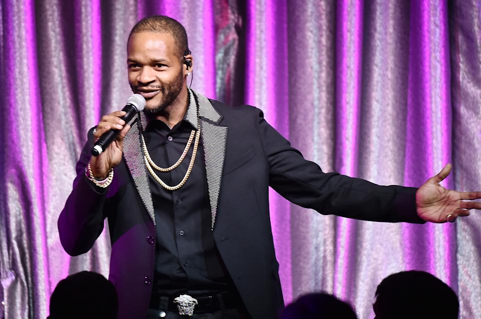 R&B singer Jaheim Hoagland charged with animal cruelty after dogs found in water-filled crates