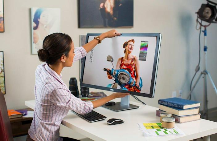 Even if you own a laptop, picking up an external monitor isn't a bad idea to give you a bigger display, and multitask easier, and let you pivot in various ways.