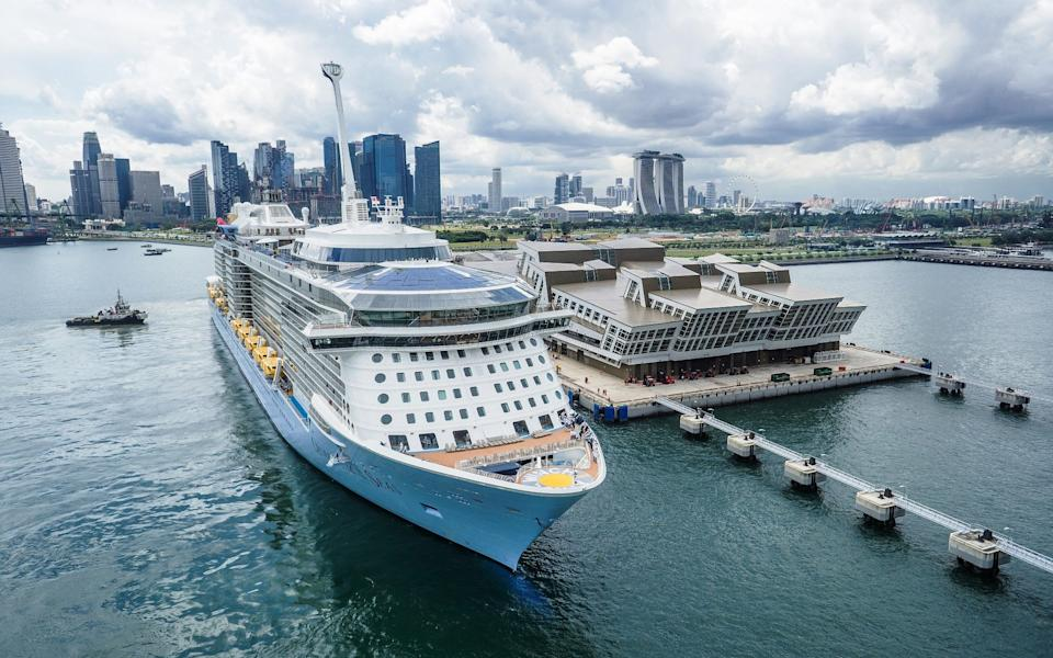 Quantum of the Seas is only carrying a third of its capacity during its restart