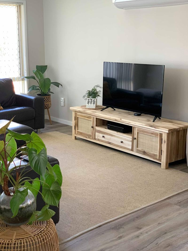 TV unit in a living room