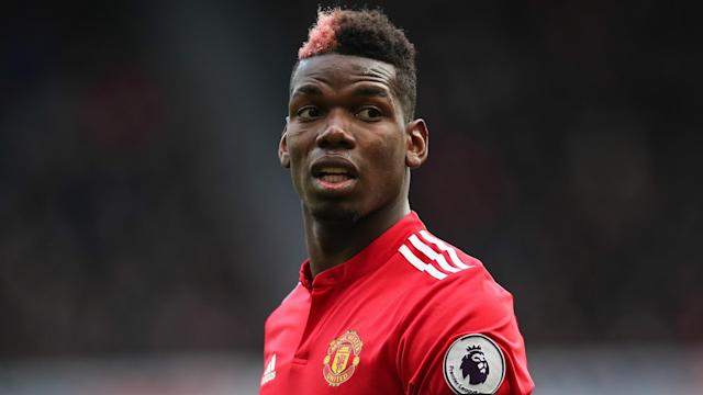 Paul Pogba missed Manchester United's clash with Huddersfield Town through illness