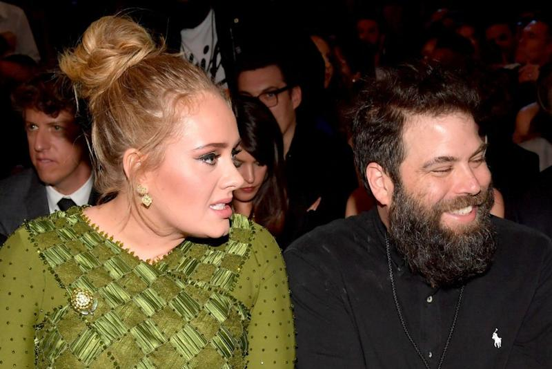 Adele and Simon Konecki | Lester Cohen/Getty Images for NARAS