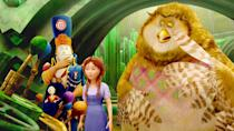 """<p><strong>Hulu's Description:</strong> """"Shortly after a tornado rips through her Kansas home, Dorothy returns to Oz to save her friends from a villainous jester.""""</p> <p><span>Stream <strong>Legends of Oz: Dorothy's Return</strong> on Hulu!</span></p>"""