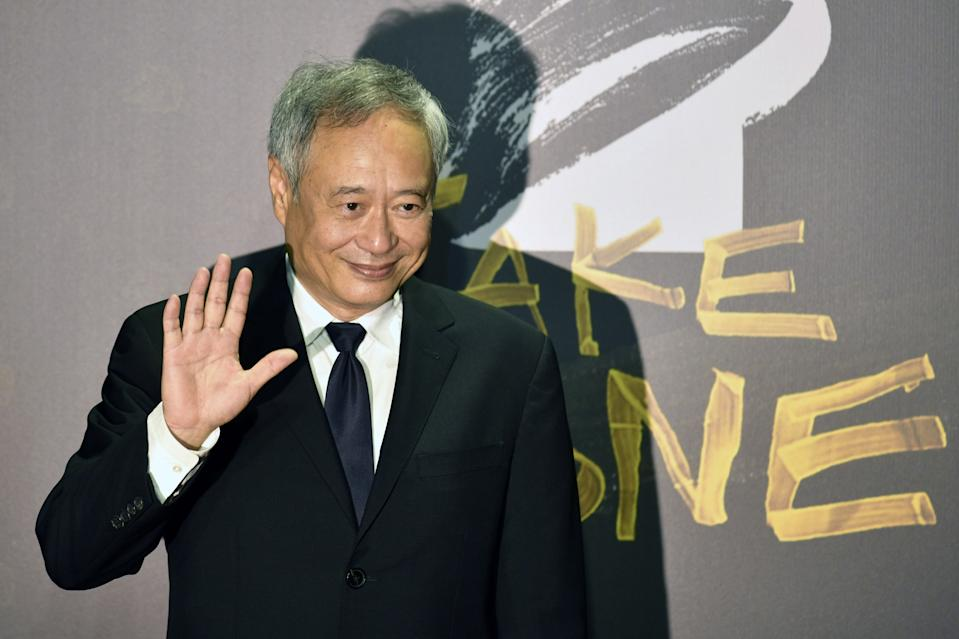 Taiwanese director Ang Lee arrives on the red carpet at the 57th Golden Horse film awards, dubbed the Chinese 'Oscars', in Taipei on November 21, 2020. (Photo by SAM YEH / AFP) (Photo by SAM YEH/AFP via Getty Images)