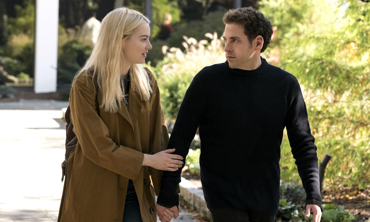 <p><em>Maniac</em> stars Emma Stone and Jonah Hill. </p>