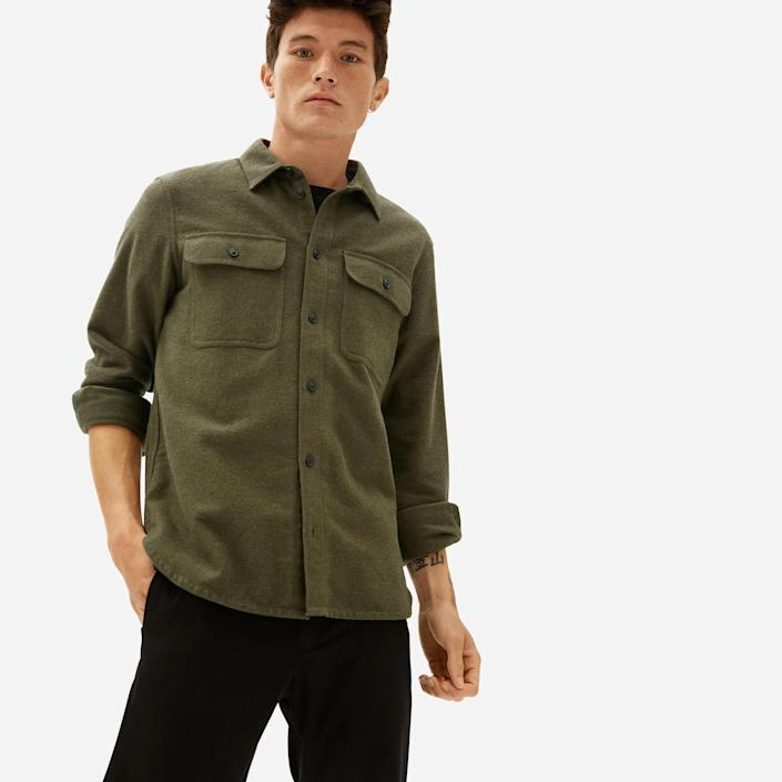 Everlane Heavyweight Overshirt, best gifts for brother