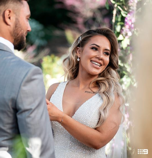 Cathy cut a very different figure on MAFS earlier this year. Photo: Instagram/summertanx