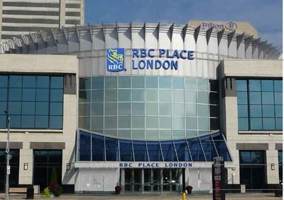 Today, RBC and the London Convention Centre announced a 10-year sponsorship which will see the London Convention Centre, located in the heart of downtown London, ON, renamed RBC Place London. (CNW Group/RBC Royal Bank)
