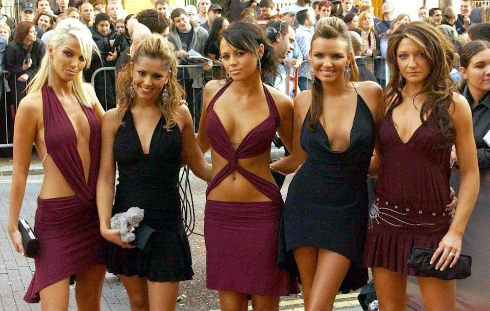 Girls Aloud at The Celebrity Awards 2004 (PA)