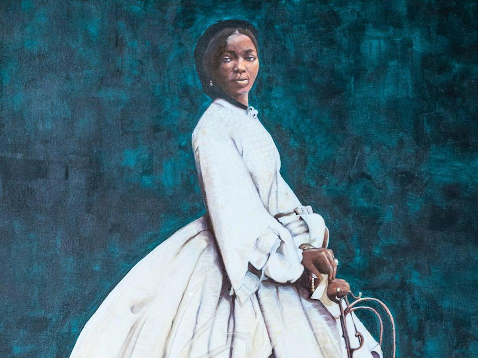 Queen Victoria's African goddaughter by artist Hannah Uzo (PA)