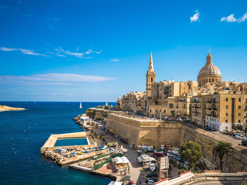 Valletta, the Maltese capitalGetty/iStock