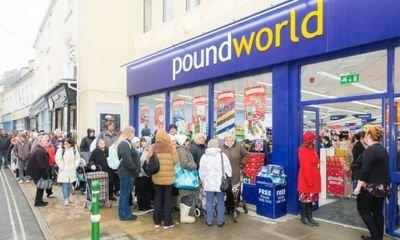 Another 40 Poundworld stores to close with loss of 531 jobs