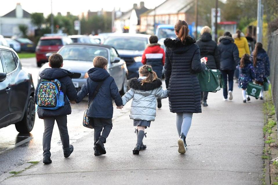 New guidance is being issued to schools (Nick Ansell/PA) (PA Archive)