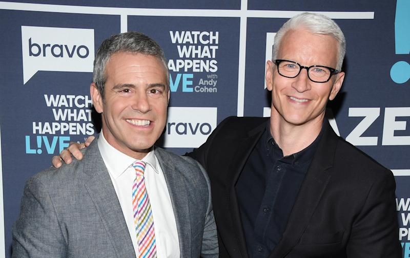 Andy Cohen will join Anderson Cooper to host this year's CNN New Year's Eve.