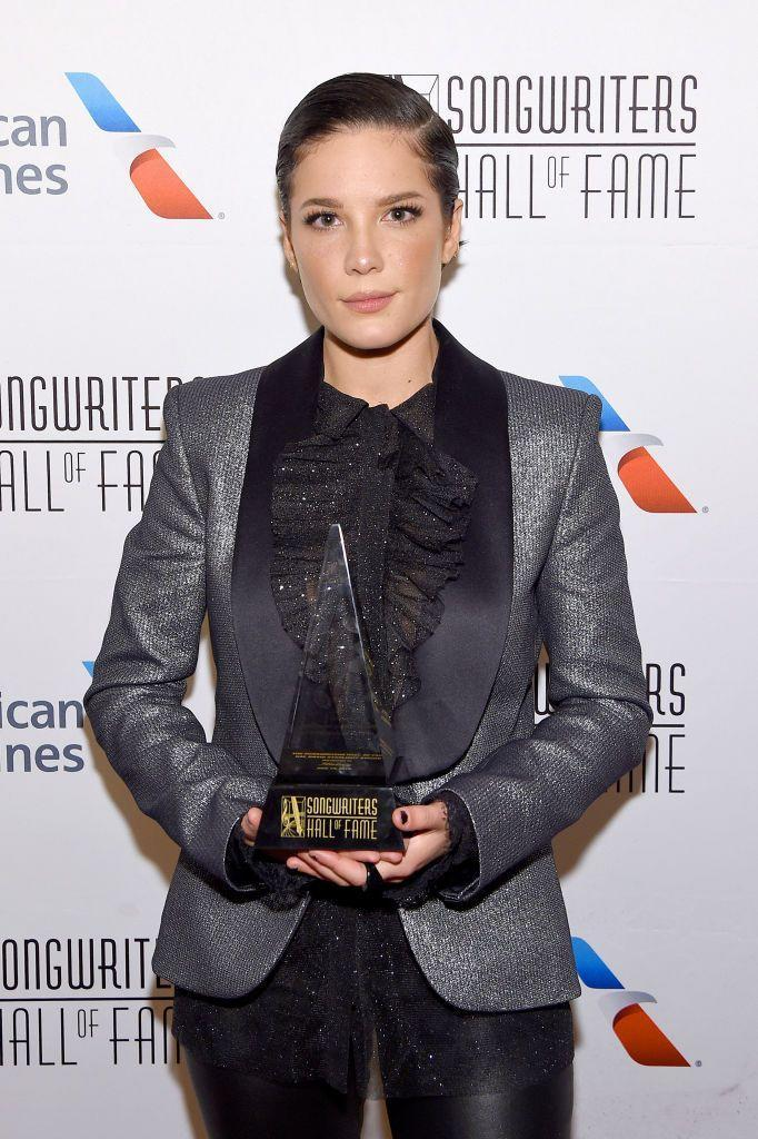 <p>Halsey has had several hit records and written a bunch of popular singles. She's also publicly spoken about her health battles, including having endometriosis and bipolar disorder, in a mature and candid way that some people double her age haven't been able to master. </p>
