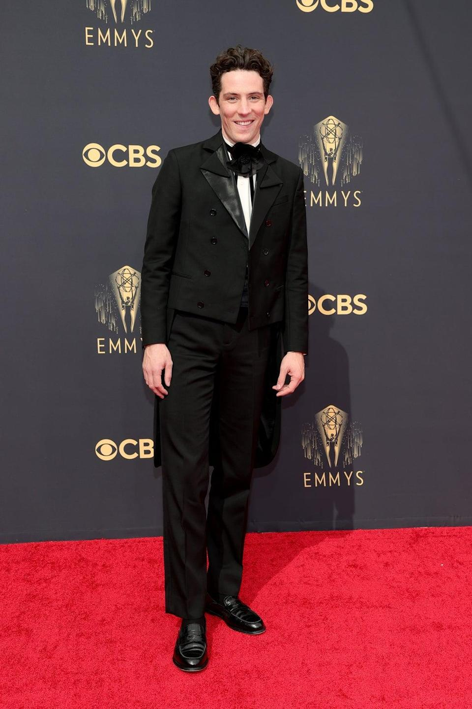 Josh O'Connor at the Emmy Awards (Getty Images)