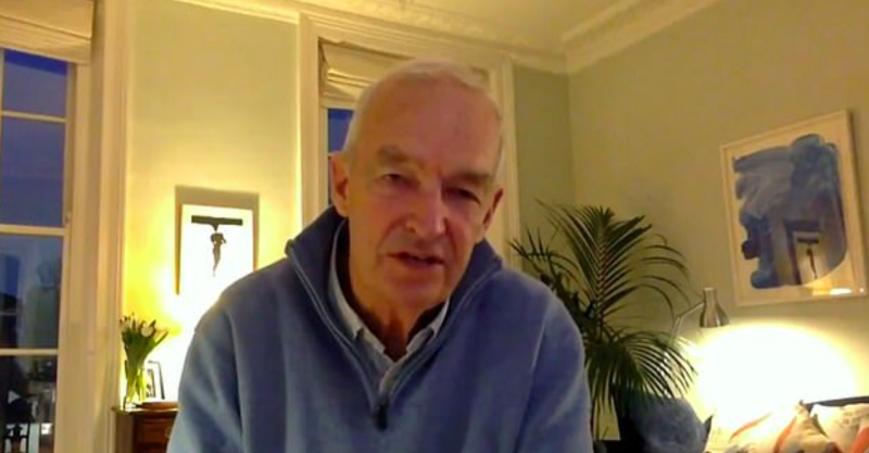 Channel 4 News presenter Jon Snow is in self-isolation over coronavirus fears. (Channel 4)