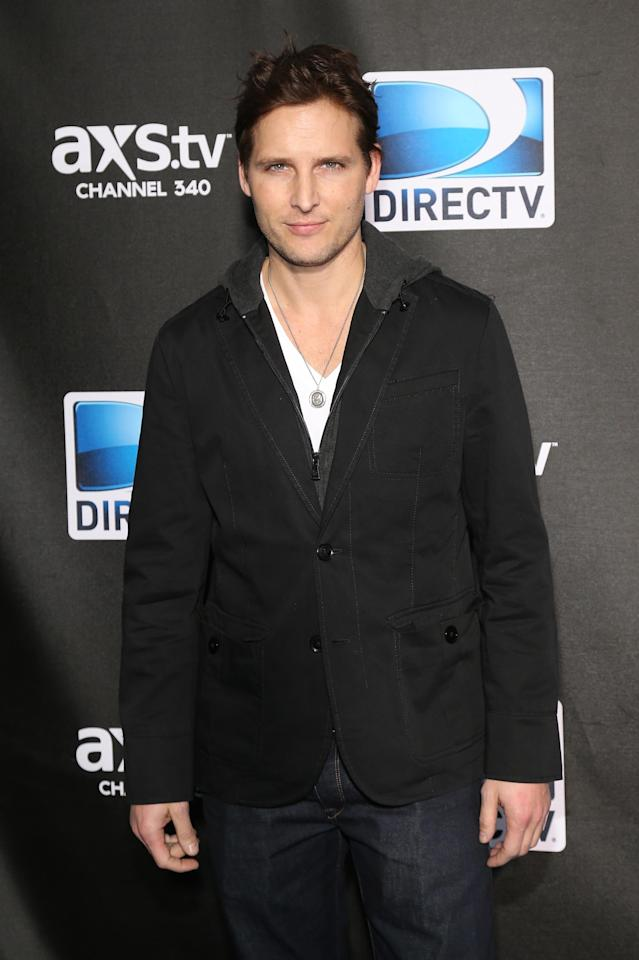 NEW ORLEANS, LA - FEBRUARY 02: Actor Peter Facinelli attends DIRECTV Super Saturday Night Featuring Special Guest Justin Timberlake & Co-Hosted By Mark Cuban's AXS TV on February 2, 2013 in New Orleans, Louisiana. (Photo by Neilson Barnard/Getty Images for DirecTV)