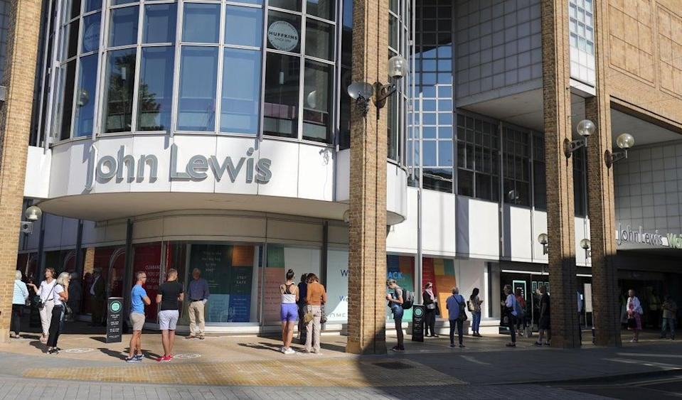 John Lewis started selling home insurance earlier this year (Steve Parsons/PA) (PA Wire)