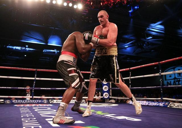 Boxing – BBBofC and EBU Heavyweight Title – Dereck Chisora v Tyson Fury – ExCel Arena