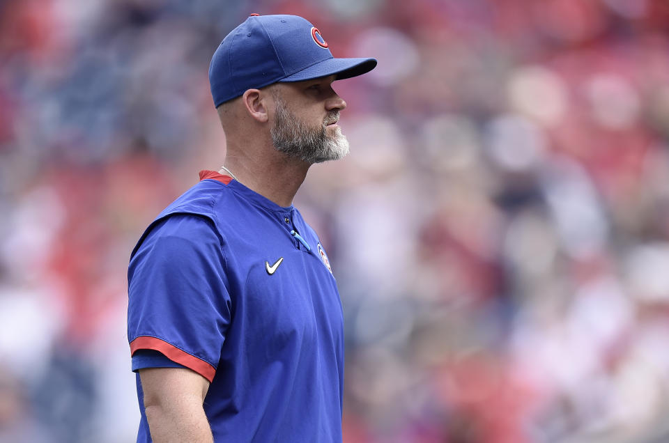 David Ross with the Cubs.