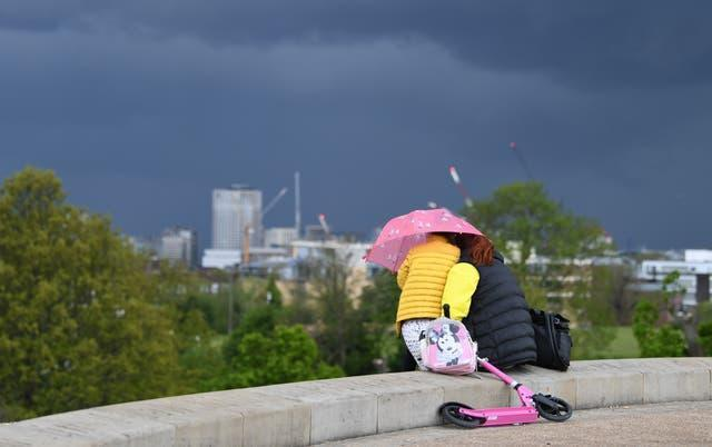Spring weather May 18th 2021