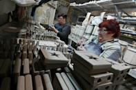 Ukraine's decision not to introduce a new lockdown as yet despite record infections on a nearly daily basis has offered some relief to 59-year-old Novikova's business