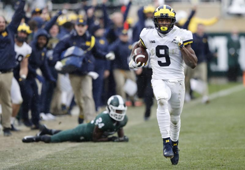 Jim Harbaugh calls Michigan State pregame march 'bush league'