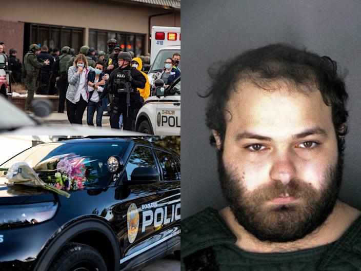 <p>Boulder shooter was cuffed with victim's handcuffs</p> (Getty)