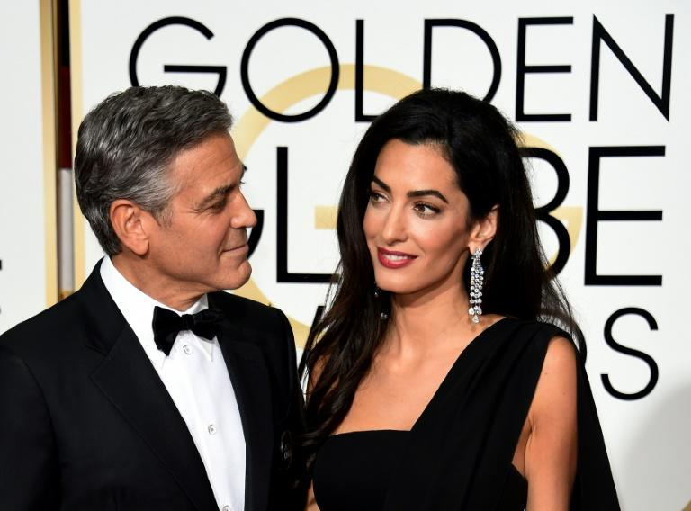 George Clooney attended the Golden Globes in 2015 with his new wife Amal, and hosts Tina Fey and Amy Poehler did not let him forget his bride's achievements