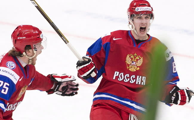 Varnakov fills Russia's WJC camp roster with a few surprises