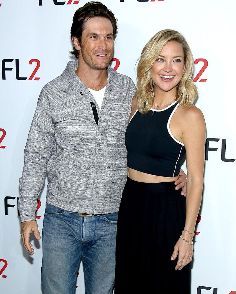 Oliver and Kate Hudson   Paul Zimmerman/WireImage