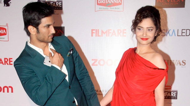 """<p>Their love flourished on the sets of 'Pavitra Rishta' and the couple soon moved in together. But a crack presented itself in their romance when Sushant made transcended into movies, and landed roles with actresses one hotter than the next, turning Ankita a little too insecure. The duo broke into an argument at the Yashraj Studios that escalated a little too fast, and before the """"Suddha Desi Romance"""" actor could realize, his then fiancé placed a swift slap on his face right in front of more audience than Sushant would have appreciated </p>"""