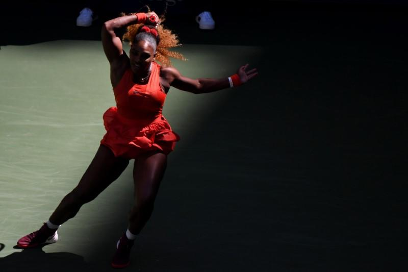 US Open 2020: Serena Williams through after battle with Sloane Stephens