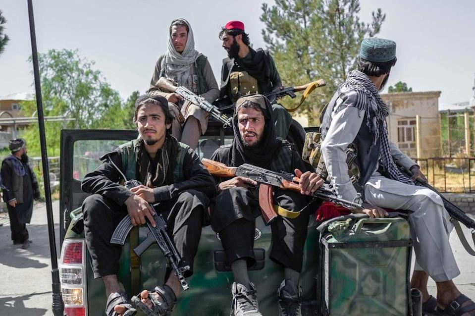 The Taliban takeover of Kabul is described as 'a systemic failure' of national security structures  (AFP via Getty)