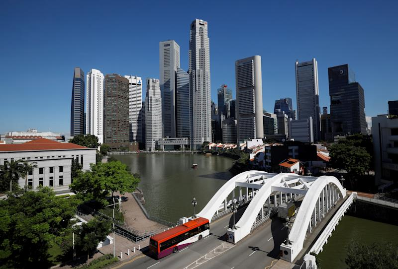 A view of the central business district in Singapore May 24, 2018. REUTERS/Edgar Su