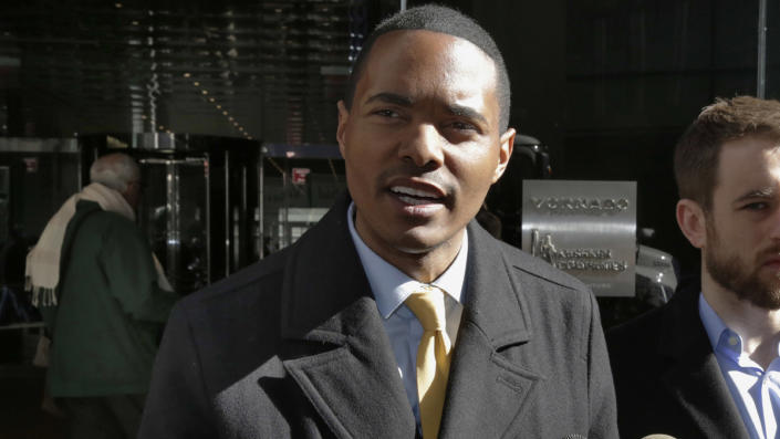 In this, March 19, 2018, file photo, New York City Council Member Ritchie Torres addresses a news conference in New York. (Richard Drew/AP Photo)